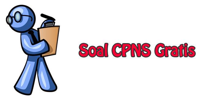 Soal CPNS Gratis