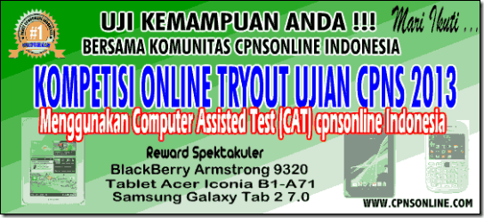 tryout-cpns-2013