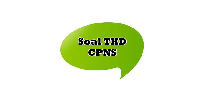 Materi Tes Tkd Cpns 2014 Cpns Indonesia