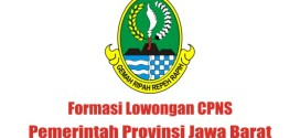 Formasi Lowongan CPNS Pemprov Jabar